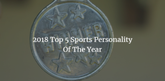 2018 top 5 personality of the year